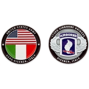 Challenge Coin Vicenza 173rd Airborne Brigade Coin
