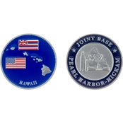 Challenge Coin Pearl Harbor Hickam Island Coin