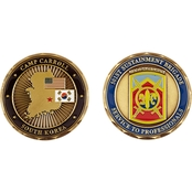 Challenge Coin Camp Carroll 501st Sustainment Brigade Coin