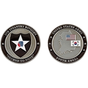 Challenge Coin Camp Casey 2nd Infantry Coin