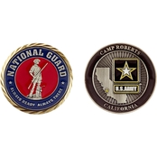 Challenge Coin Camp Roberts Army National Guard Coin