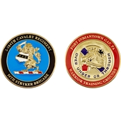 Challenge Coin Fort  Indiantown Gap 56th Stryker Brigade Coin