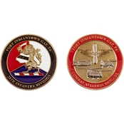 Challenge Coin Indiantown Gap 28th Infantry Division Coin