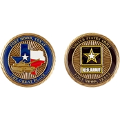 Challenge Coin Fort Hood The Great Place Coin