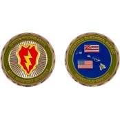 Challenge Coin 25th Infantry Division Schofield Coin