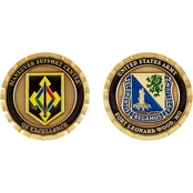 Challenge Coin Ft. Leonard Wood Maneuver Support Center Chemical Corps Coin
