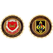 Challenge Coin Fort Leonard Wood Maneuver Support Center Engineer Coin