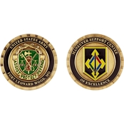 Challenge Coin Fort Leonard Wood Maneuver Support Center MP Coin