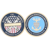 Challenge Coin Coast Guard Gunner's Mate Coin