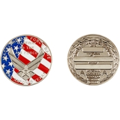 Challenge Coin Lackland AFB Graduation Shiny Coin