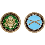 Challenge Coin US Army Infantry Coin