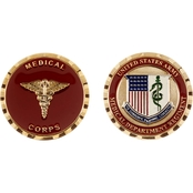Challenge Coin U.S. Army Medical Department Regiment Coin