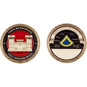Challenge Coin Fort Leonard Wood Engineer PFC Coin