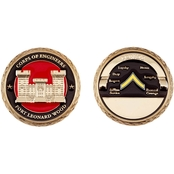 Challenge Coin Fort Leonard Wood Engineer PVT Coin