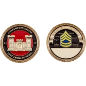 Challenge Coin Ft. Leonard Wood Engineer Sgt 1st Class Coin