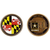 Challenge Coin Fort Meade Army Coin