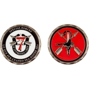 Challenge Coin Eglin AFB 7th Special Forces Scorpion Coin