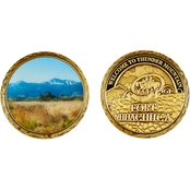 Challenge Coin Ft. Huachuca Thunder Mountain Coin