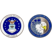 Challenge Coin U.S. Air Force Ranks Together Coin
