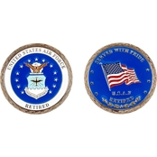 Challenge Coin U.S.A.F. Retired