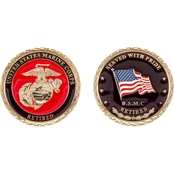 Challenge Coin U.S.M.C. Retired Coin