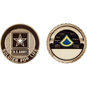 Challenge Coin Army Rank Private First Class Coin