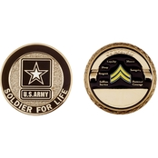 Challenge Coin Army Rank Corporal Coin