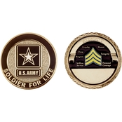 Challenge Coin Army Rank Sergeant Coin