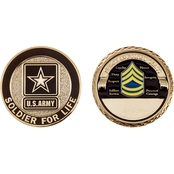 Challenge Coin Army Rank Sergeant First Class Coin