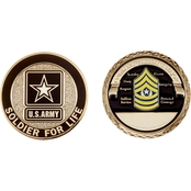 Challenge Coin Army Rank Command Sergeant Major Coin