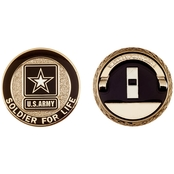 Challenge Coin Army Rank Warrant Officer 1 Coin