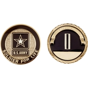 Challenge Coin Army Rank Chief Warrant Officer 5 Coin