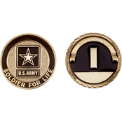 Challenge Coin Army Rank 2nd Lieutenant Coin