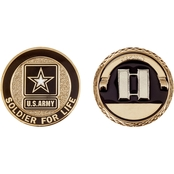 Challenge Coin Army Rank Captain Coin