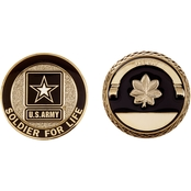 Challenge Coin Army Rank Major Coin