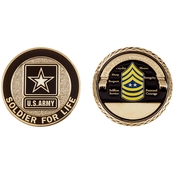 Challenge Coin Army Rank Sergeant Major of the Army Coin