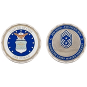 Challenge Coin U.S.A.F. Command Chief Master Sergeant Rank Coin
