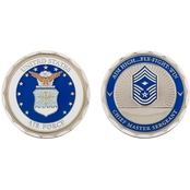 Challenge Coin U.S.A.F. Chief Master Sergeant Rank Coin