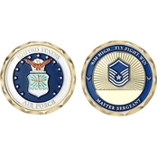 Challenge Coin U.S.A.F. Master Sergeant Rank Coin