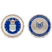 Challenge Coin U.S.A.F. Technical Sergeant Coin