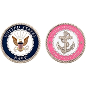 Challenge Coin U.S. Navy Proud Mom Coin