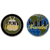 Challenge Coin Army Brat Well Traveled Coin