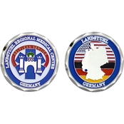 Challenge Coin Landstuhl Germany Coin