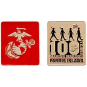 Challenge Coin Marines 100 Years Coin