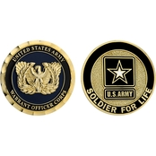 Challenge Coin US Army Warrant Officer Corps Coin