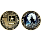Challenge Coin Fort Hunter Ligget California Coin
