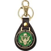 Challenge Coin US Army Seal Key Fob