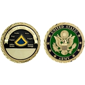 Challenge Coin U.S. Army Seal Rank Private First Class Coin