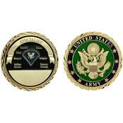 Challenge Coin U.S. Army Seal Rank Specialist Coin