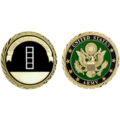 Challenge Coin U.S. Army Seal Rank Warrant Officer 4 Coin